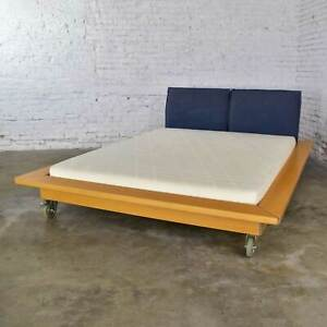 Ligne Roset Parallele Postmodern Platform Bed Attributed to Peter Maly