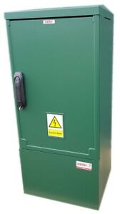 GRP Electric Enclosure, Kiosk, Cabinet, Meter Box, Housing (W400, H910, D320) mm