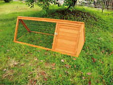Unbranded Small Animal Hutches with Run