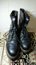 Iron Age Men's Boots Size 11EEE Vibram Safety-Steel Toe Motorcycle 65098 USA..
