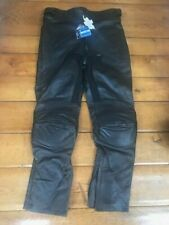 "ANC Gears Leather Motorcycle Trousers Extra Large & 30"" leg"