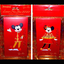 Disney Guo Pei 2020 Lunar New Year Red Envelopes 3-Pack cash packets Chinese dca