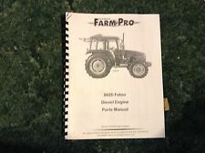 A New Parts Manual For the Engine on A FarmPro 8020 Foton Tractors.
