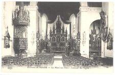CPA 76 - environs du HAVRE - La Mare aux Clers (Clercs) - Intérieur de l'Eglise