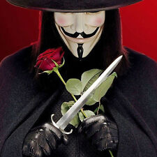 Cool Cospaly Mask V for Vendetta Movie Masquerade Dress Up Guy Fawkes Anonymous