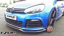 EZ-LIP VW GOLF VI 6 R LINE Spoiler Spoilerlippe Lippe Frontspoiler Frontlippe