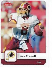 MARK BRUNELL SIGNED 2004 DONRUSS PLAYOFF #100 - WASHINGTON REDSKINS