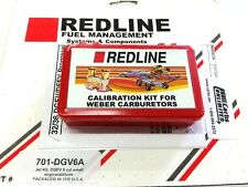 Redline Jet Kit fits 32/36 Weber carb DGEV DGAV 6cyl High Altitude 2500-10000+