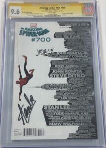 Amazing Spiderman #700 Skyline Variant Signed Stan Lee John Romita Jr CGC 9.6 SS