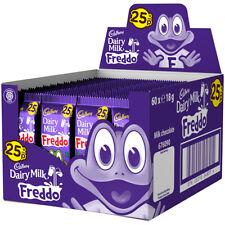 CADBURY Dairy Milk Freddo Chocolate Bars - FULL BOX of 60 x 18g bars