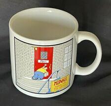 New listing The Far Side Vtg Coffee Mug Midvale School for the Gifted Pull Door Push 1986