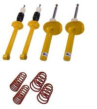 sport suspension lowering kit springs shock absorber Ford Escort MK7