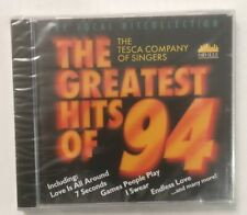 """Tesca Company Of Singers """"Greatest Hits Of '94"""" NEW & SEALED CD *Posted From UK*"""