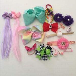 Girls Hair Accessories - Headbands, Clips, Hair Ties, Hair Extensions