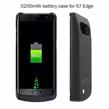 5200mAh Power Bank Case For Samsung Galaxy S7 Edge Pack Backup Battery Charge