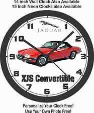 1989 JAGUAR XJS CONVERTIBLE WALL CLOCK, VW, Porsche, Mercedes Benz