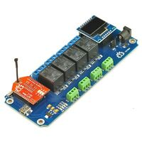TSTR04 - 4 Channel,4 Temperature Sensors WiFi Relay(Thermostats)+Android/iOS APP