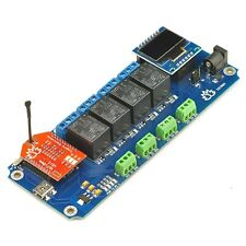 Tstr04 - 4 Channel,4 Temperature Sensors WiFi Relay(Thermostats)+Androi d/iOs App