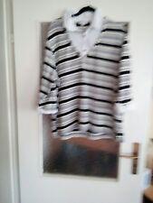 My line mit Blusen Ausschnitt und Pullover in eins schaut Bilder Gr.52/54