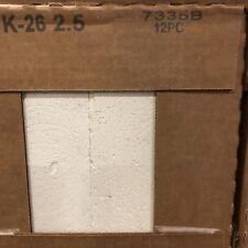 """IFB  Thermal Ceramics K26  2.5"""" (12 pk)"""