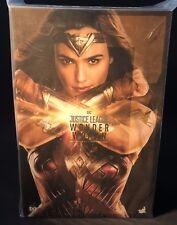 Hot Toys 1/6 DC Justice League MMS450 Wonder Woman Diana Action Figure