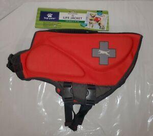 Top Paw Neoprene dog Life Jacket Vest RED Size L for 55 to 85 lb MSRP $49.99