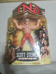 Scott Steiner TNA Impact Series 7 Figure WCW WWE WWF MOC New NWO Marvel Toys