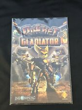 📔 PS2 • PlayStation 2 • Game Instruction Manual Only 🎮 Ratchet Gladiator