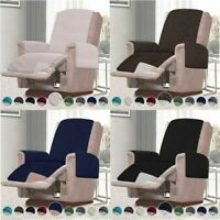 Reversible Small/Oversized Recliner Covers Stylish Chair Slipcover for Kids Pets