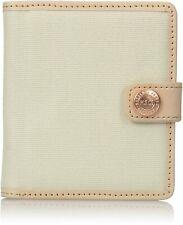 NWOT Herschel Supply Co. Thurlow Snap Closure Cotton Wallet Card Money Holder