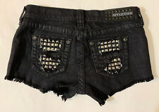 Affliction Shorts Vikki Iris Women's Shorts Junior Petite Women's Shorts Sz 26