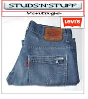 """VINTAGE LEVIS 527'S BOOTCUT JEANS  W30"""" L29"""" APROX SIZE UK 10  (T516)"""