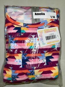 LuLaRoe Amelia Dress Size Large 14