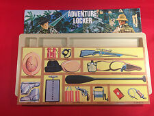 ** 1964-1976 GI JOE CANADA ** New Foot Locker Decals & Tray Adventure Team