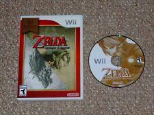 The Legend of Zelda: Twilight Princess Nintendo Wii Game & Case Nintendo Selects