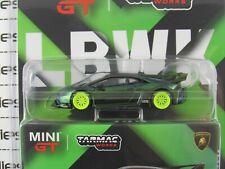 2020 Tarmac Works X Mini-GT 1:64 LHD Magic Green LAMBORGHINI HURACAN GT CHASE