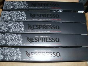 Nespresso Capsules ISIRAZIONE RISTRETTO ITALIANO DECAFFEINATO - 50 Count