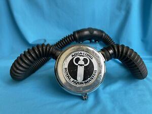 Aqua-Lung Royal Aqua-Master U.S. DIVERS Double Hose Regulator Vintage Scuba Dive