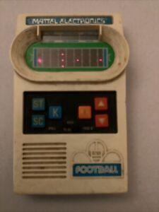 Vintage 1977 Mattel Electronic Handheld Football game