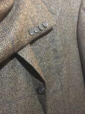 Kiton 100% Cashmere Striped Barleycorn Olive Mens Sport Coat Sz 41R 41 Reg 3 But