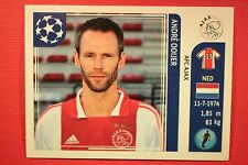 PANINI CHAMPIONS LEAGUE 2011/12 N. 247 OOIJER AJAX WITH BACK BACK MINT!!