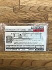 Walther's HO Scale Decal 22-76: Santa Fe (ATSF) Diesels White  New T-2