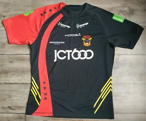 BRADFORD BULLS kooga rugby shirt jersey size L