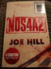 *SIGNED* NOS4A2, Joe Hill, Print, Horror Book (TV Series). Stephen King. PB.
