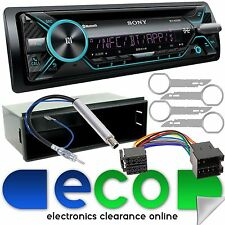 VW Polo MK4 Facelift 06-09 Fitting Kit & Sony CD MP3 AUX USB Bluetooth Stereo