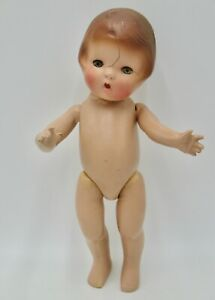 Old Composition Patsy Type Doll TLC or for Parts