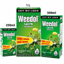 WEEDOL LAWN WEEDKILLER CONCENTRATE 250ml 500ml 1L - Only Kill Weeds Daisies dand