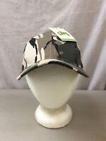 trucker hat baseball cap Vintage Mesh SnapBack CAMO CAMOUFLAGE tan green  hunting f8cd8541af29