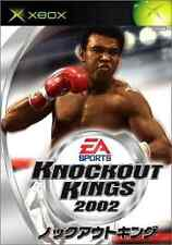 Knockout Kings 2002 Xbox Japan Version
