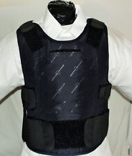Large IIIA Lo-Vis Concealable Body Armor Carrier BulletProof Vest with Inserts